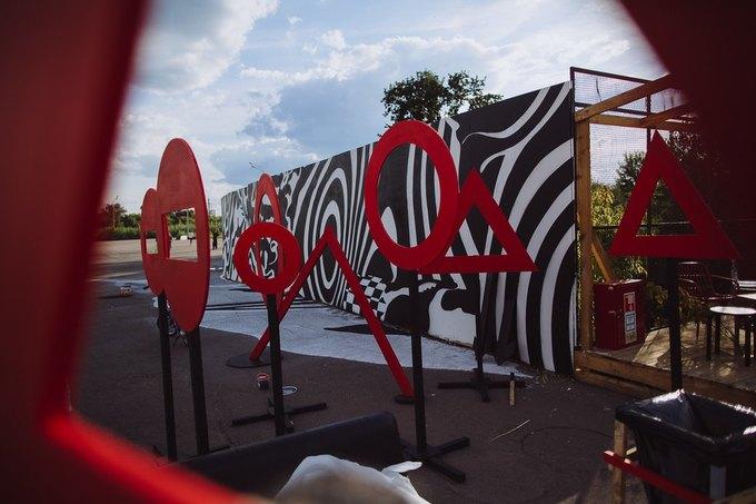 Фоторепортаж: Строительство объектов фестиваля Outline. Изображение № 52.