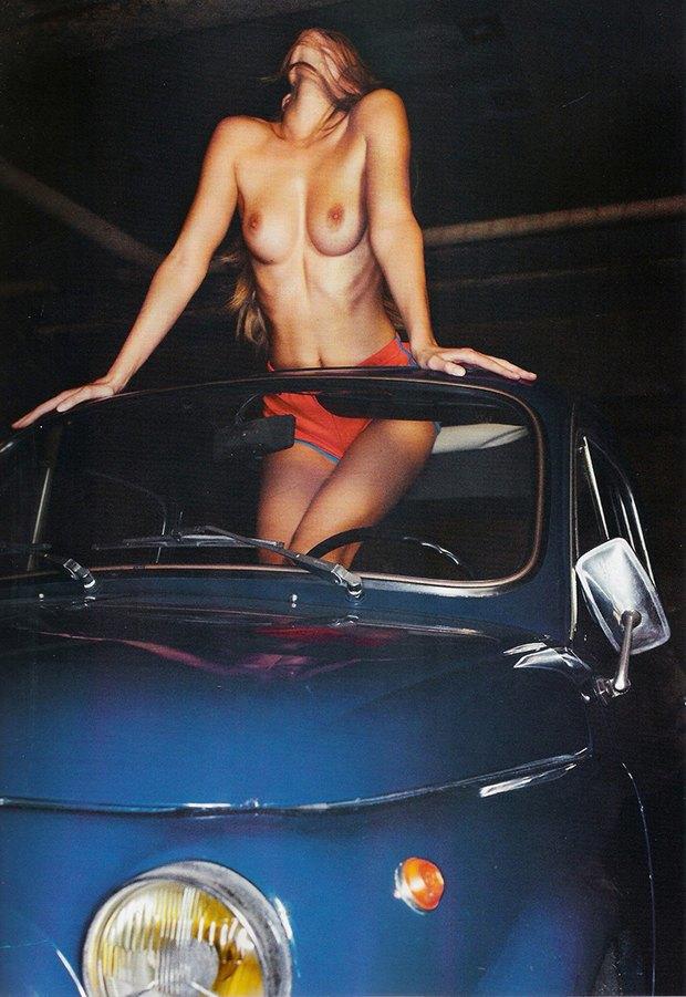 Эдита Вилкевичуте снялась обнаженной для Lui Magazine. Изображение № 4.