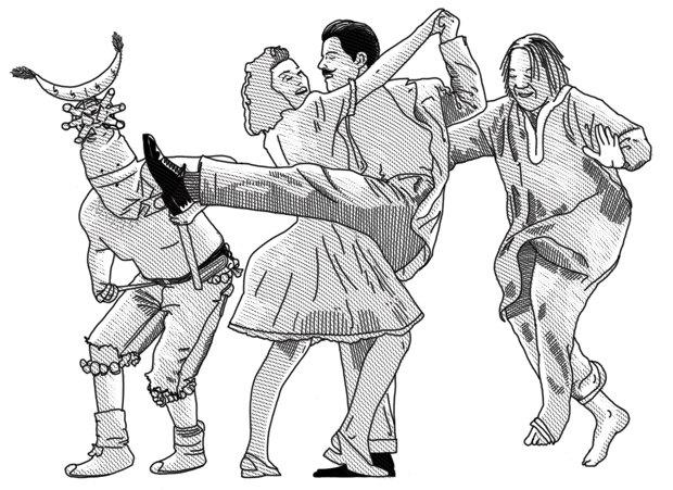 Ультимативный гид по мужским танцам. Изображение №1.