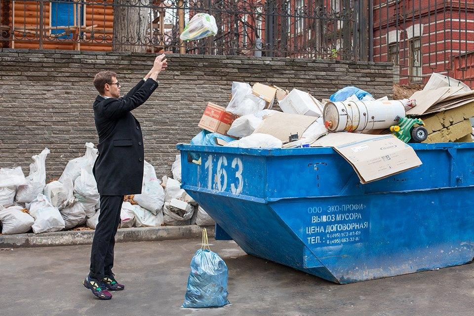«Даже вынести мусор умею красиво». Изображение № 7.