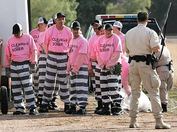 В Австралии осужденных байкеров переоденут в розовые робы. Изображение № 1.