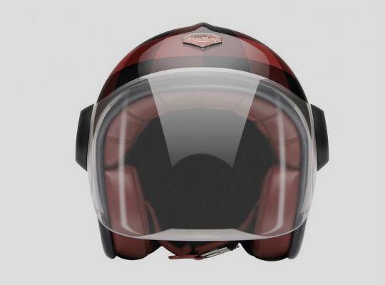 Новые модели мотоциклетных шлемов марки Les Ateliers Ruby. Изображение № 2.