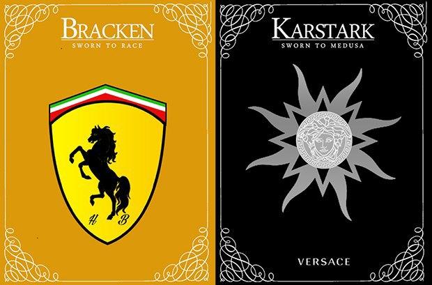 Как выглядели бы логотипы брендов в мире «Игры престолов». Изображение № 9.