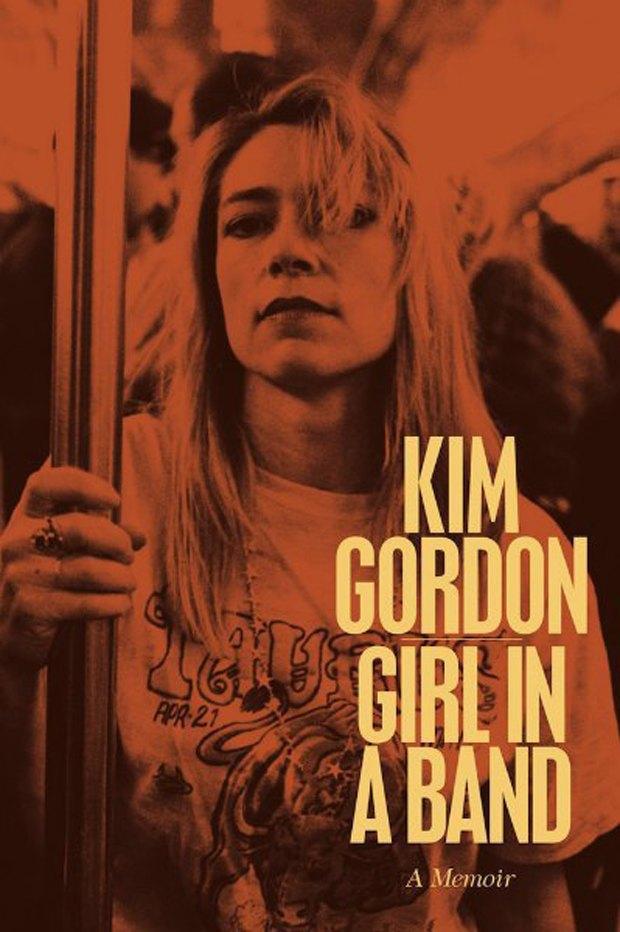 Ким Гордон из Sonic Youth опубликовала обложку своей автобиографии. Изображение № 1.