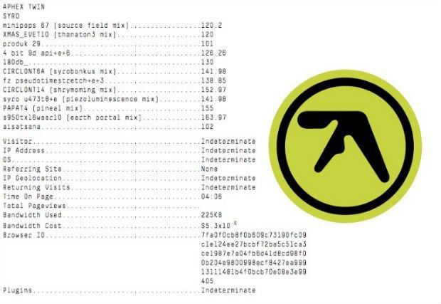 Aphex Twin анонсировал треклист нового альбома. Изображение № 2.
