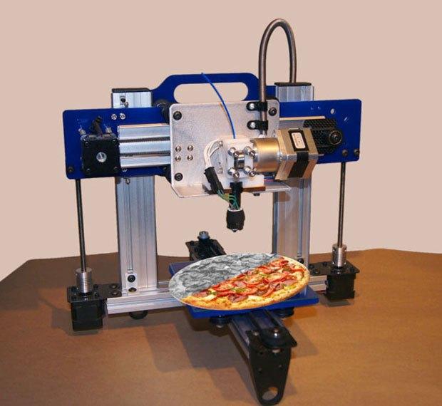 В NASA спроектируют 3D-принтер, печатающий еду. Изображение № 1.