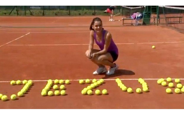Теннисистку Агнешку Радваньску выгнали из католического общества за откровенную фотосессию. Изображение № 3.