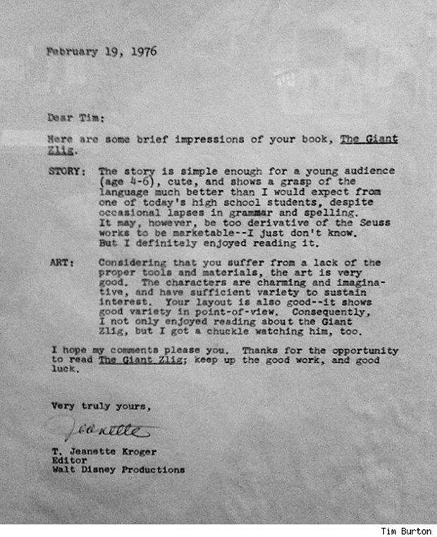 Как правильно сказать «нет»: 6 писем с отказами из истории поп-культуры. Изображение № 4.