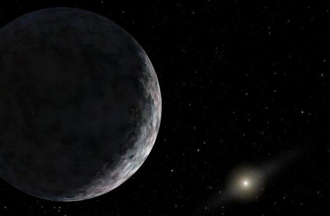 Астрономы из США обнаружили новую планету в Солнечной системе. Изображение № 1.