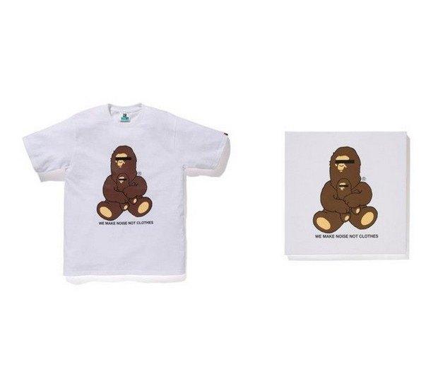 A Bathing Ape представили совместную коллекцию с Канье Уэстом и Фарреллом Уильямсом. Изображение № 10.