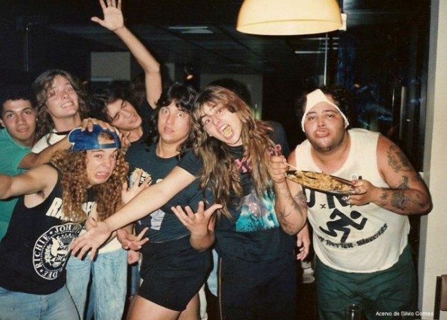 В сети появились архивные фотографии Sepultura. Изображение № 11.