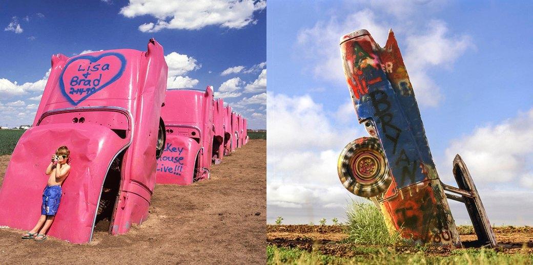 «Ранчо Кадиллак»: Как автомобильное кладбище превратилось в легенду. Изображение № 3.