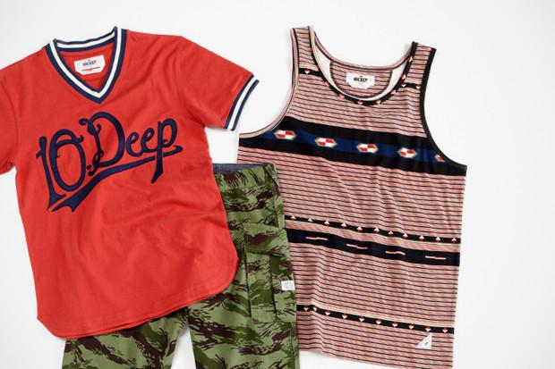 Марка 10.Deep выпустила летнюю коллекцию одежды. Изображение № 3.