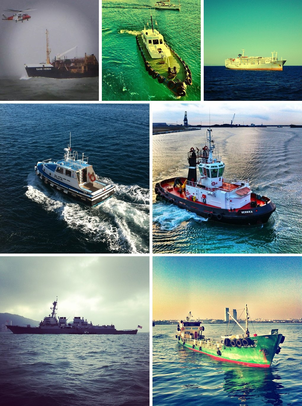 Что публикуют в своих Instagram моряки разных стран. Изображение № 1.