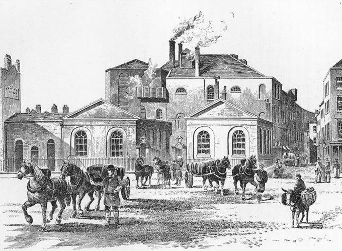 История лондонского «пивного потопа» 1814 года. Изображение № 1.