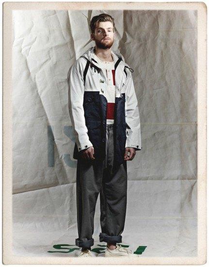 Марка Nigel Cabourn опубликовала лукбук весенней коллекции одежды. Изображение № 3.