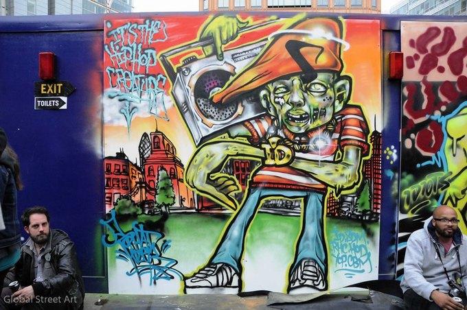 Google Street Art: Онлайн-музей граффити под открытым небом. Изображение № 6.