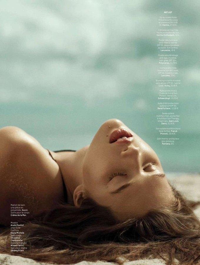 Ханна Химич сфотографировала Анаис Пульо для нового номера журнала L'officiel Paris. Изображение № 2.