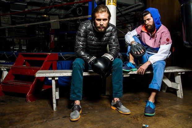 Марка Cole Haan и сайт Grungy Gentleman выпустили лукбук совместной коллекции одежды. Изображение № 4.