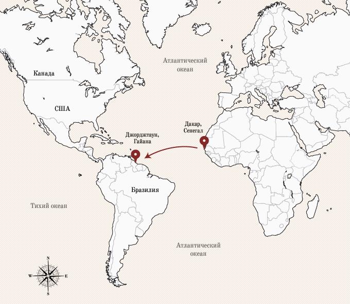 Одинокое плавание: 8 путешественников, пересекших Атлантику на весельной лодке. Изображение № 18.