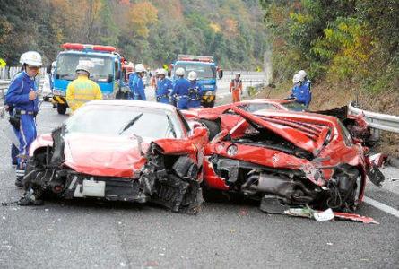 В Японии произошла самая дорогая авария в истории. Изображение № 1.