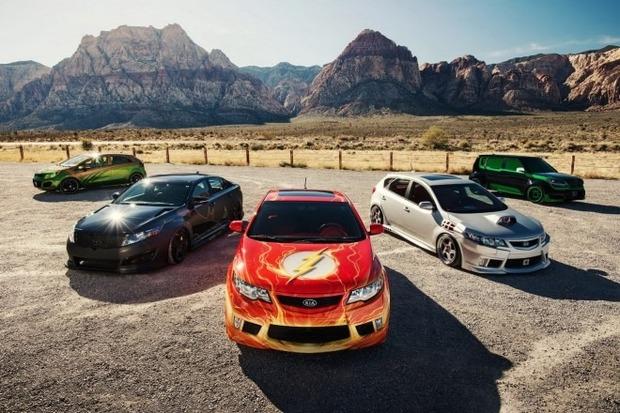 Kia показала пять из восьми «супергеройских» автомобилей. Изображение № 1.