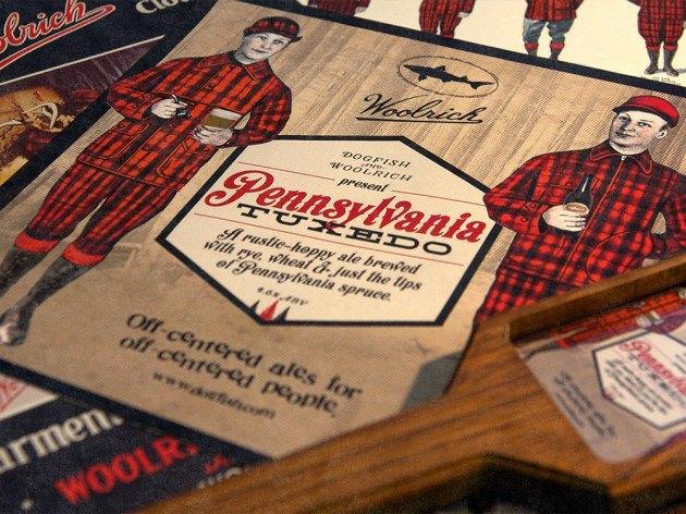 Марка Woolrich и пивоварня Dogfish Head представили совместную коллекцию одежды и аксессуаров. Изображение № 1.