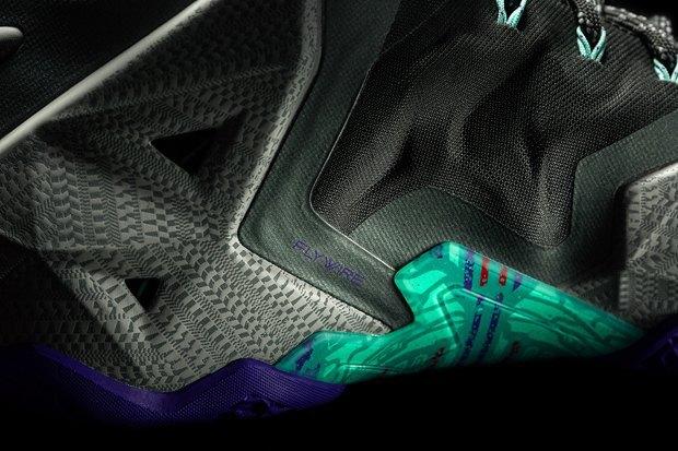 Баскетболист Леброн Джеймс представил новую именную модель кроссовок Nike LeBron 11. Изображение № 9.