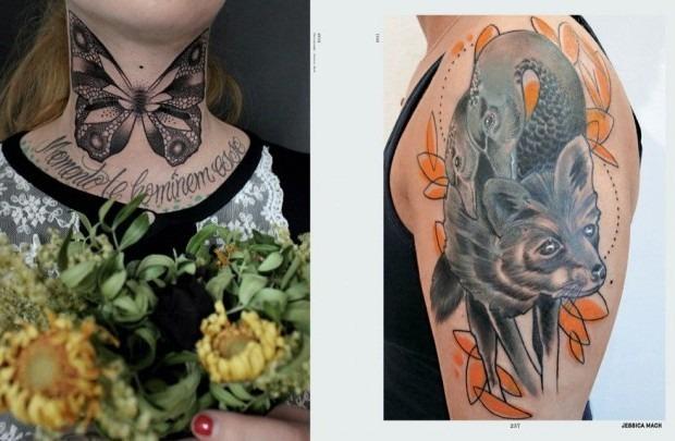 Выходит новая книга о культуре татуировок «Forever: The New Tattoo». Изображение № 2.