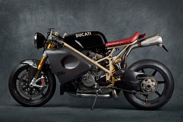 Мотоцикл Ducati 1098R мастерской Mr Martini. Изображение № 1.