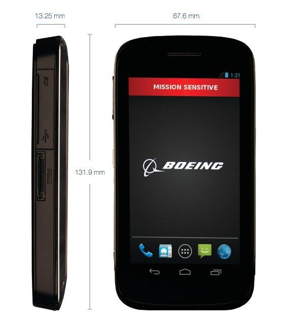 Компания Boeing разработала для спецслужб США самоуничтожающийся смартфон. Изображение № 1.