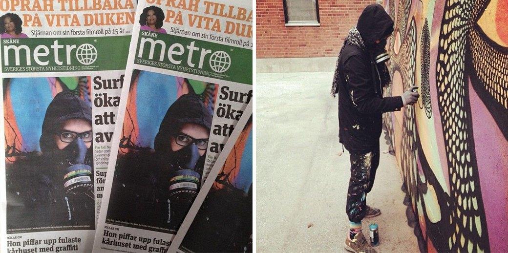 Пусси райтинг: Интервью со шведской художницей Каролиной Фалкольт. Изображение № 2.