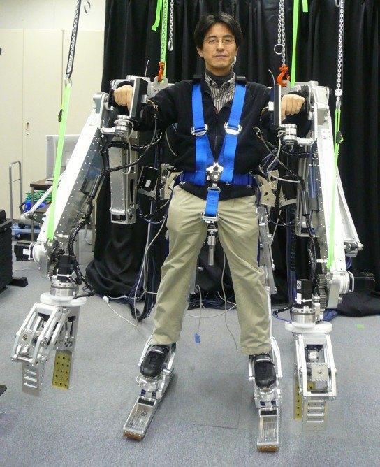 Panasonic запустит «силовые костюмы» в массовое производство. Изображение № 1.