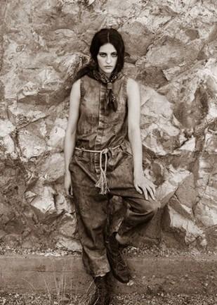 Марка Levi's Vintage Clothing опубликовала лукбук весенней коллекции одежды. Изображение № 16.