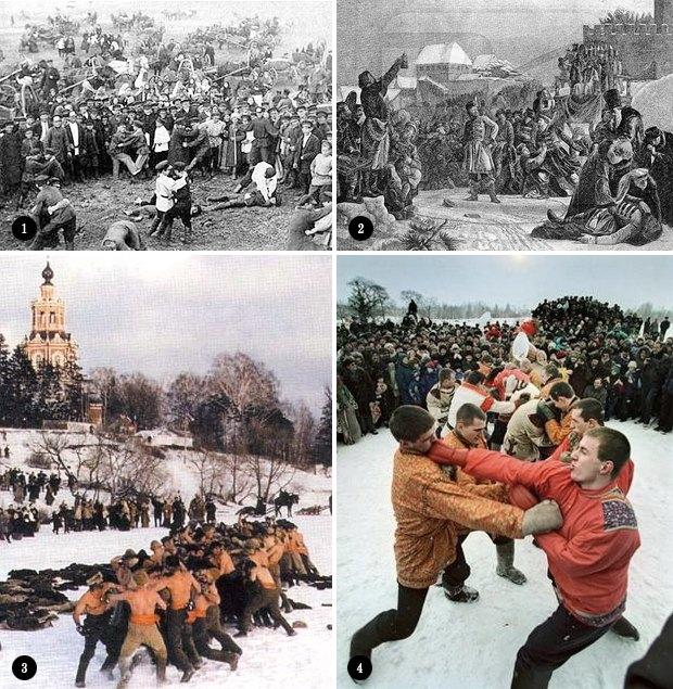 Русские кулачные бои: Главное мужское развлечение Масленицы. Изображение № 1.
