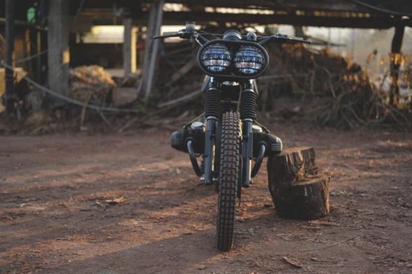 Новый проект испанской мастерской El Solitario —мотоцикл BMW R45. Изображение №4.