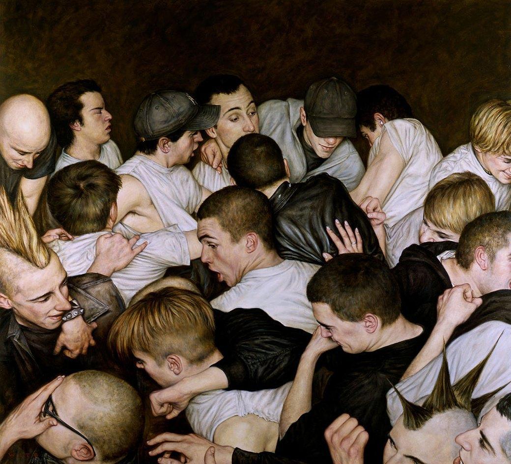 Эстетика мошпита: Хардкор-живопись, вдохновлённая Рубенсом и Босхом. Изображение № 18.