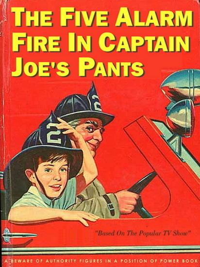 Иллюстратор Боб Стэйк создал пародии на обложки старых детских книжек   . Изображение № 12.