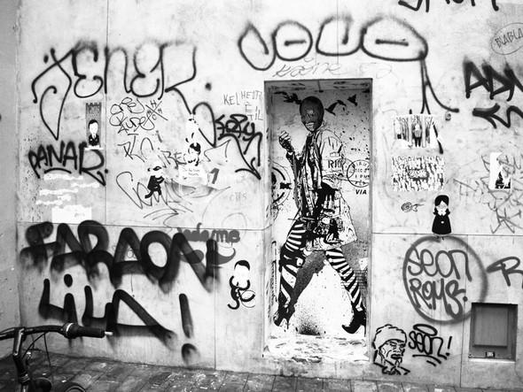 Новая работа уличного художника WK Interact. Изображение № 6.