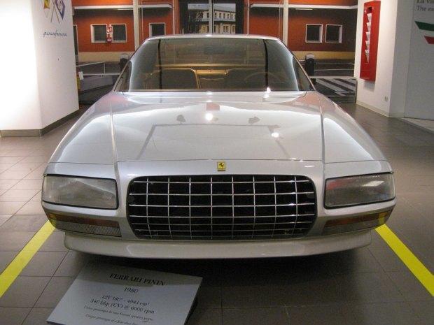 Уникальный седан Ferrari Pinin уйдёт с молотка. Изображение № 1.