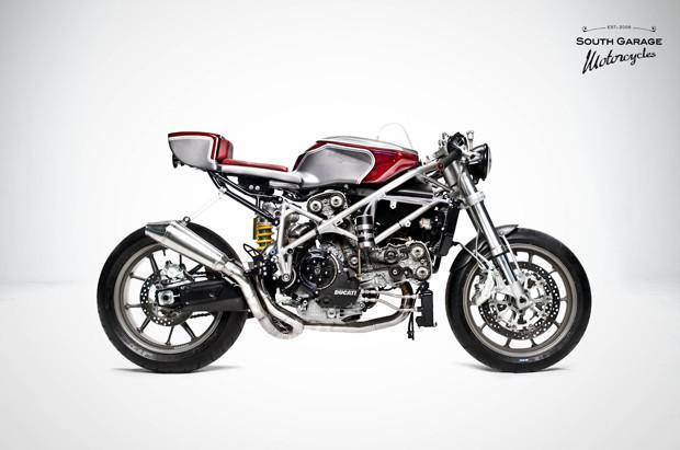 Каферейсер Ducati 749 мастерской South Garage. Изображение № 1.