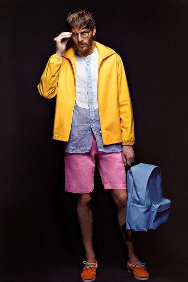 Марка Sophnet выпустила лукбук весенней коллекции одежды. Изображение № 3.