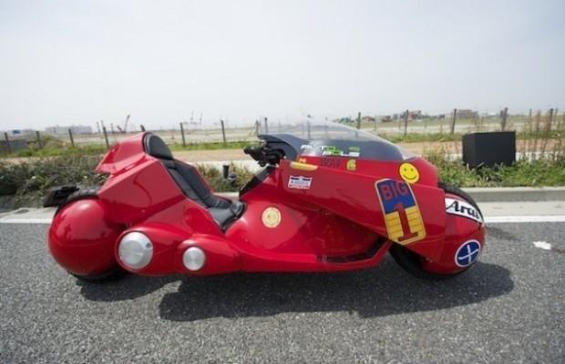 Японский инженер разработал точную копию мотоцикла из аниме «Акира». Изображение №1.