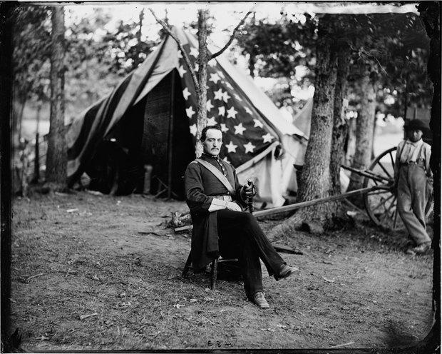Опубликованы раскрашенные фотографии времен Гражданской войны в США. Изображение № 3.