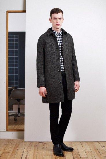 Марка A.P.C. выпустила лукбук осенней коллекции одежды. Изображение № 7.