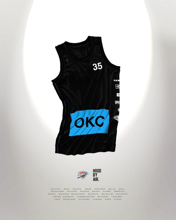 Канадский дизайнер представил, как бы выглядела форма NBA в исполнении культовых брендов. Изображение № 14.