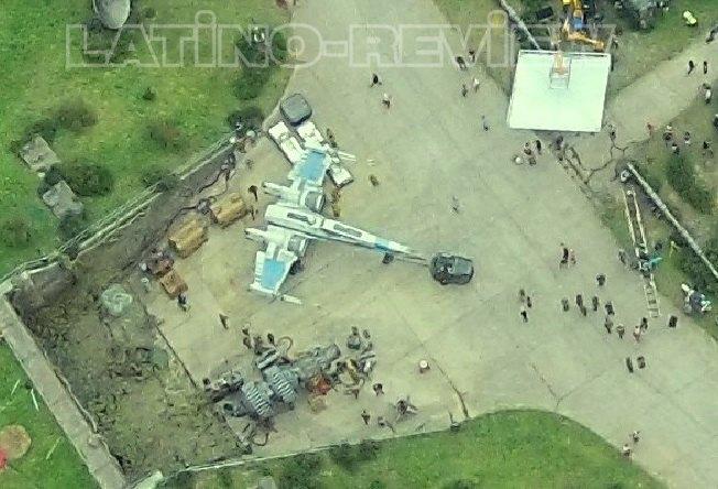 Дрон сделал фото военной базы со съёмок «Звёздных войн» . Изображение № 3.