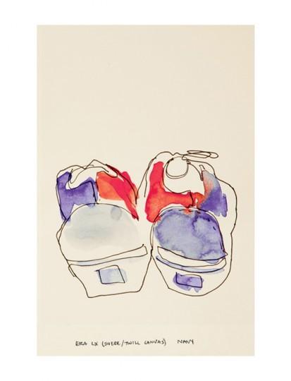 Иллюстрированный лукбук весенней коллекции марки Vans Vault. Изображение № 11.