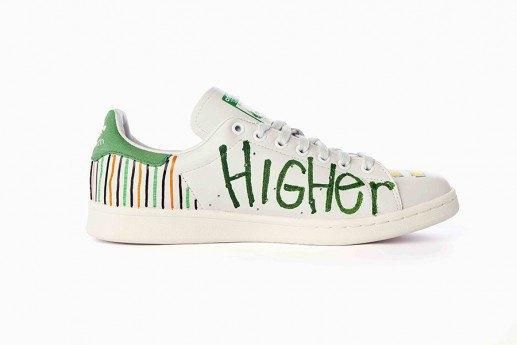 Adidas выпустит коллекцию кроссовок Stan Smith, вручную разрисованных Фарреллом. Изображение № 8.