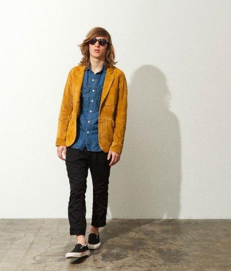 Японская марка Nonnative представила весеннюю коллекцию одежды. Изображение № 1.